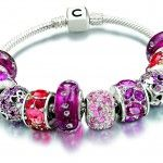 Pink and Red Chamilia Bracelet  the perfect #valentines_day gift