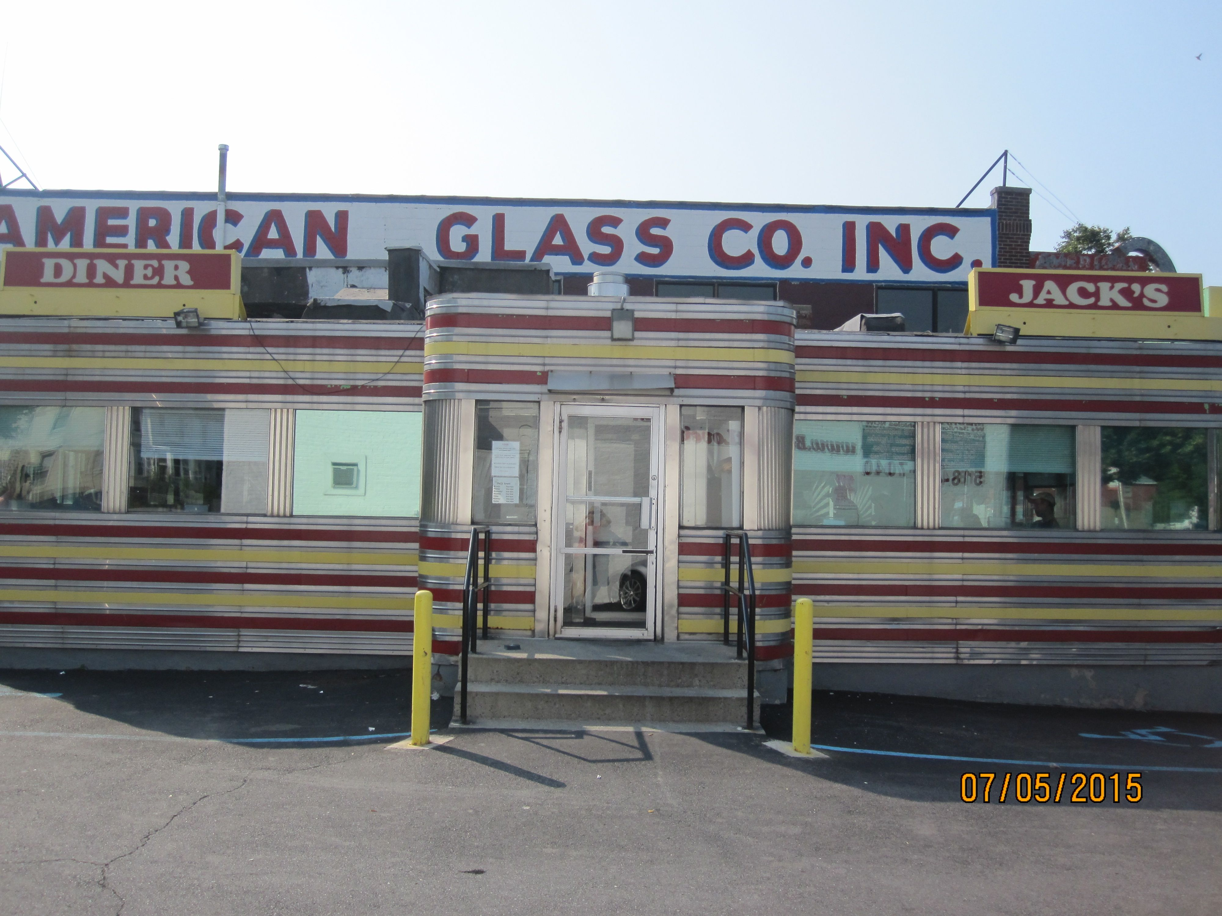 Jack S Diner 547 Central Ave Albany Ny A 1948 Comac