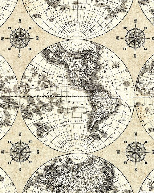 World maps cartography compasses parchment patterns world maps cartography compasses parchment equilter gumiabroncs Image collections