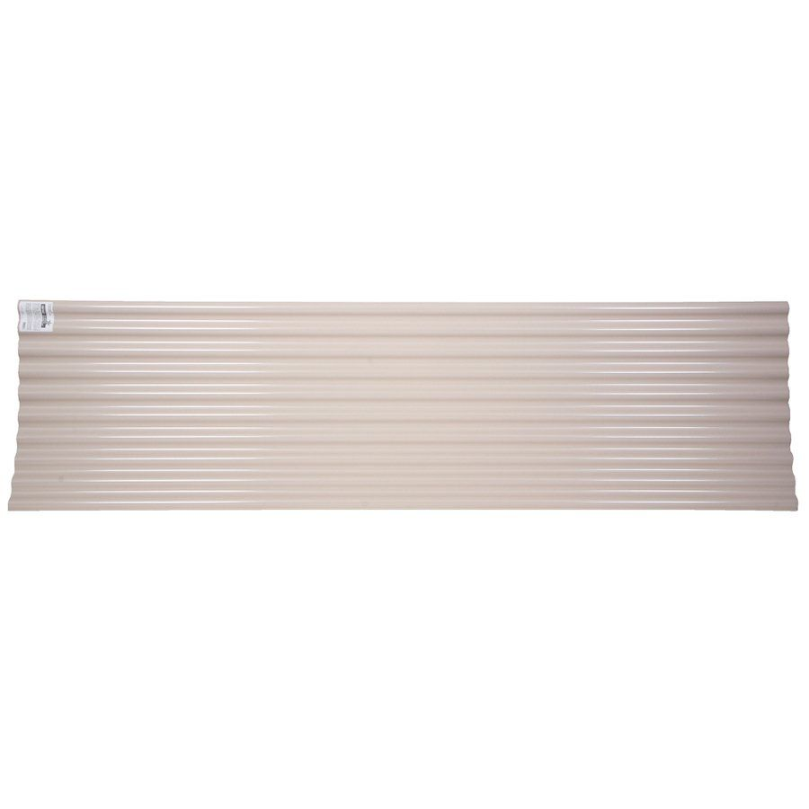 Tuftex Seacoaster 12 Ft X 26 In Corrugated Pvc Roof Panel Roof Panels Plastic Roofing Corrugated Plastic