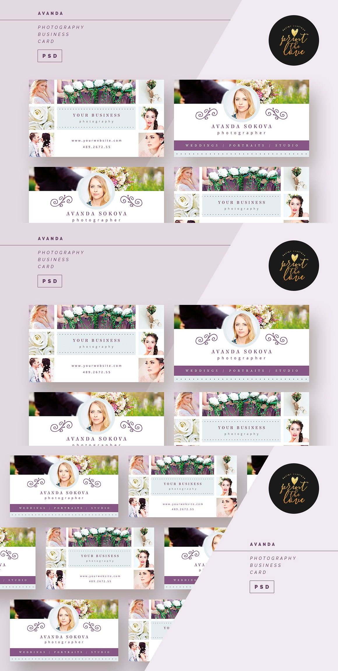 Avanda photography business card template psd pdf business card avanda photography business card template psd pdf alramifo Gallery
