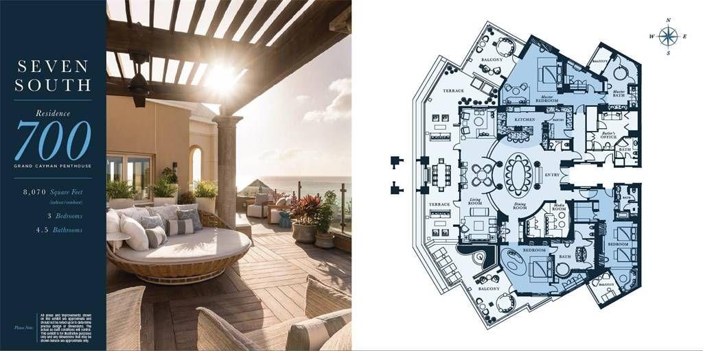 Condominium For Sale At 700 Seven South   The Ritz Carlton Residences  Penthouse Seven Mile