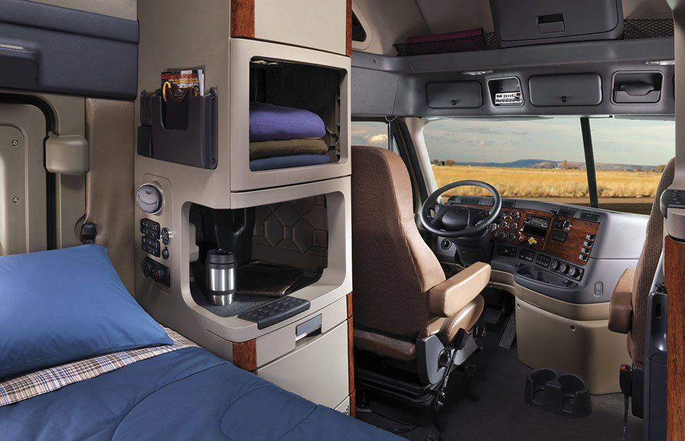 Freightliner Cascadia Evolution Truck Interior Truck Driver Trucks