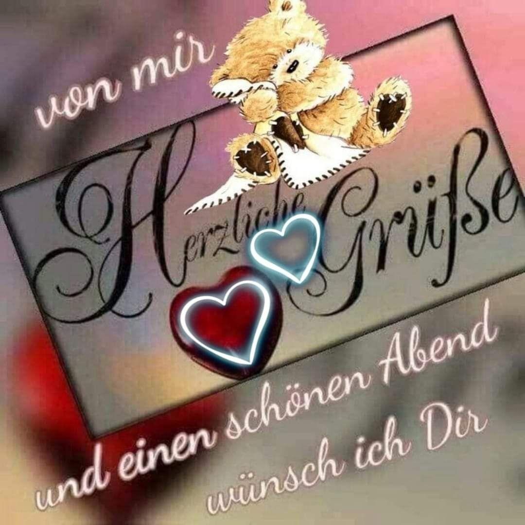 Pin Von Christa Hundt Auf Happy Birthday Schönen Abend