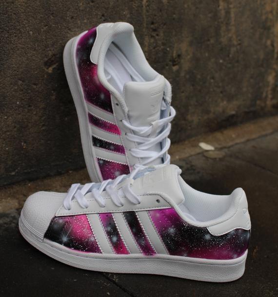 Custom painted Adidas Superstar