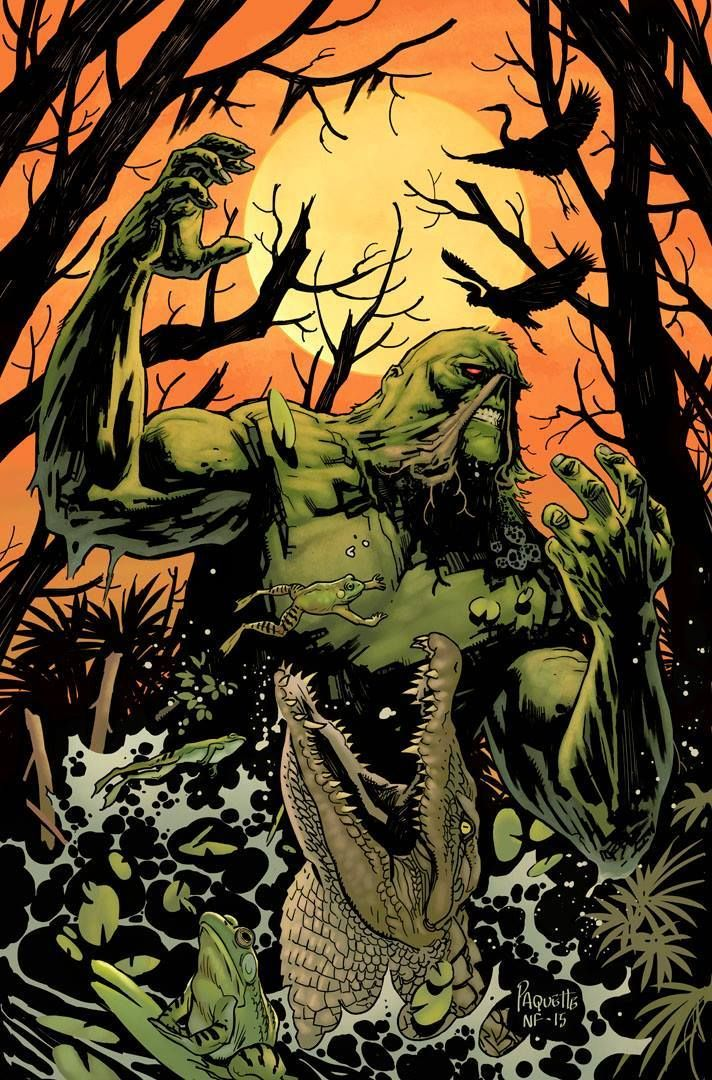 Art Vault #swampthing