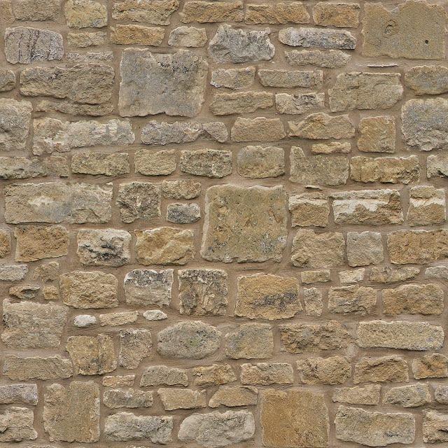 Tileable Stone Wall Texture + (Maps) texturise Texturise