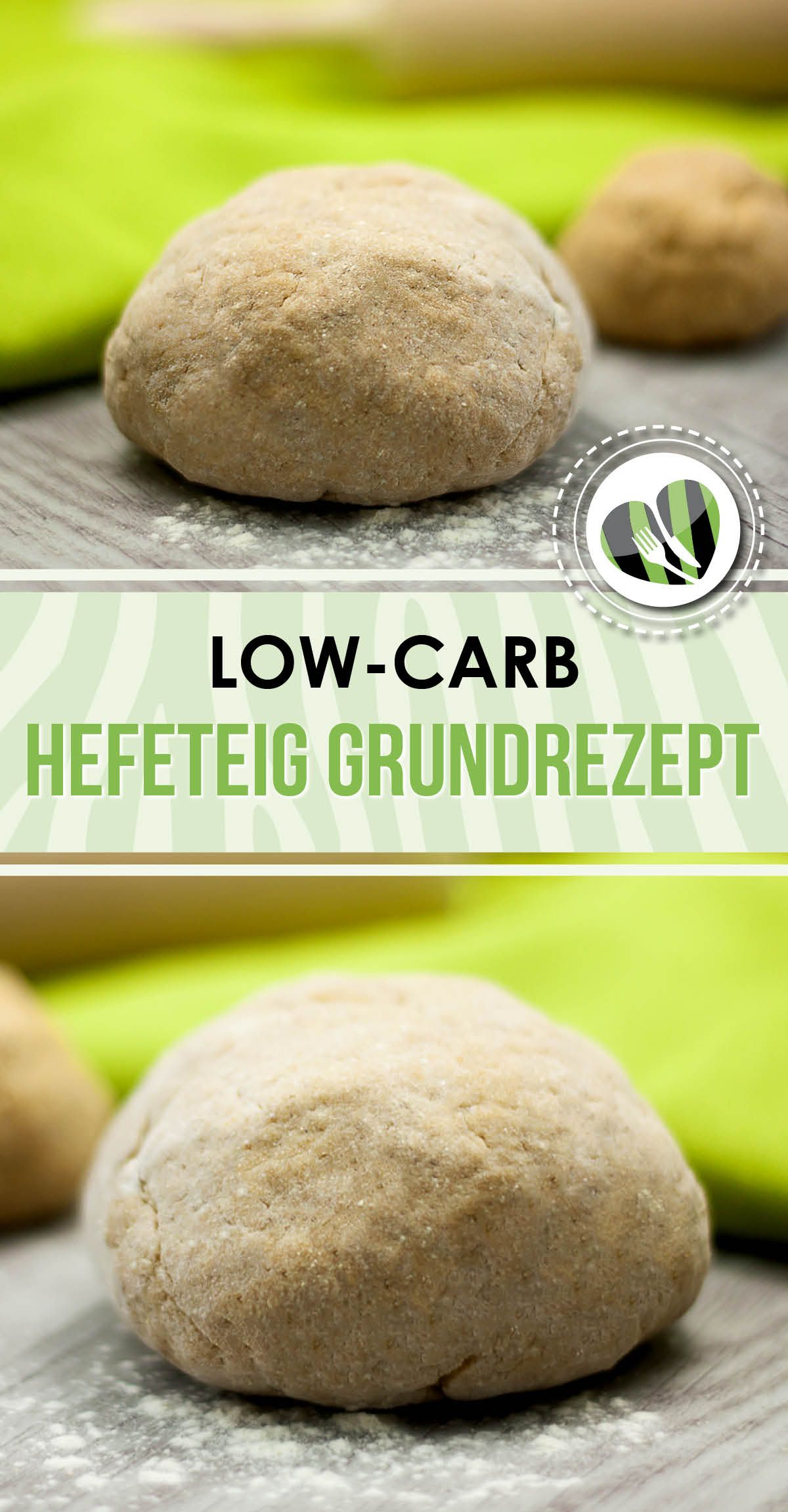 Photo of Basic recipe: Gluten-free, low carb yeast dough – LCHF – KETO