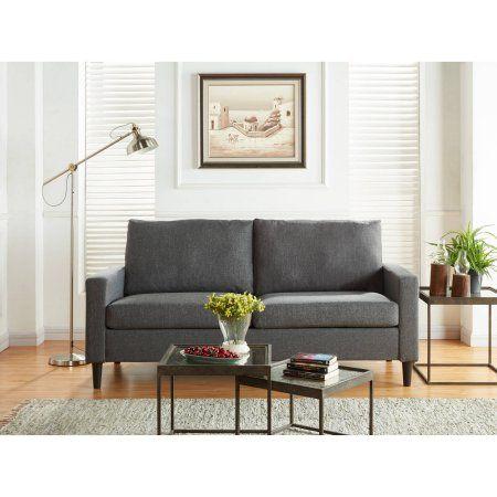Mainstays Apartment Sofa, Multiple Colors