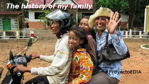 The history of my family Un proyecto de inglés para aprender, sentir y compartir con, en y de la familia