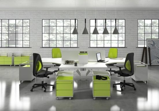 modernes office designer büromöbel ideen ersa | Interiors, die ich ...