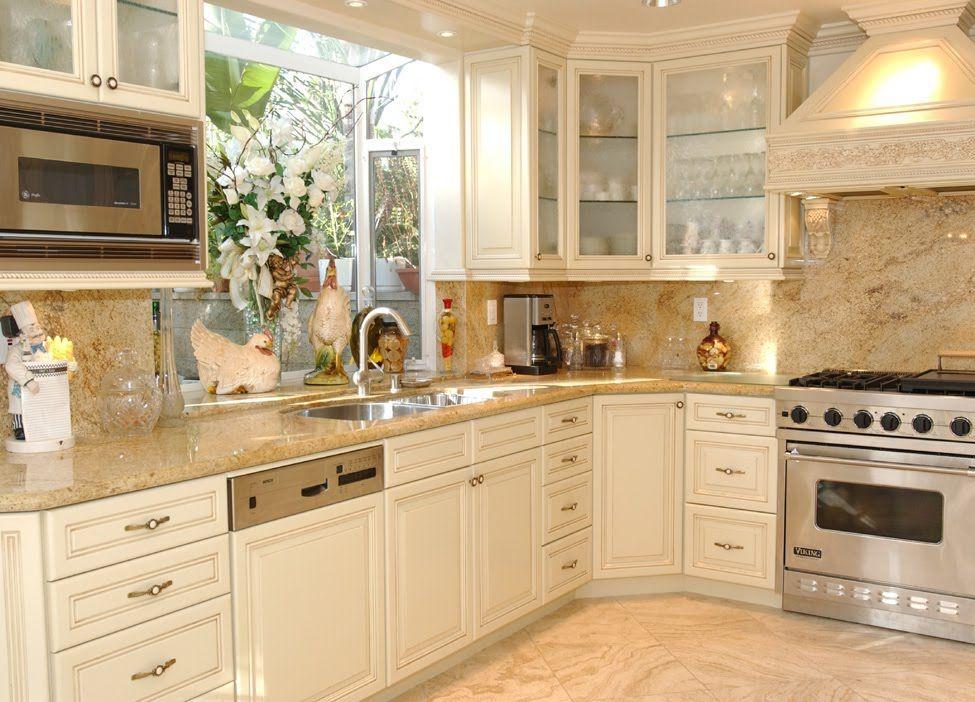 Best Cream Kitchen Cabinet Doors Paint Grade Cabinets Malibu 640 x 480