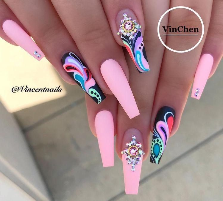Nails, Trendy Nails, Cute
