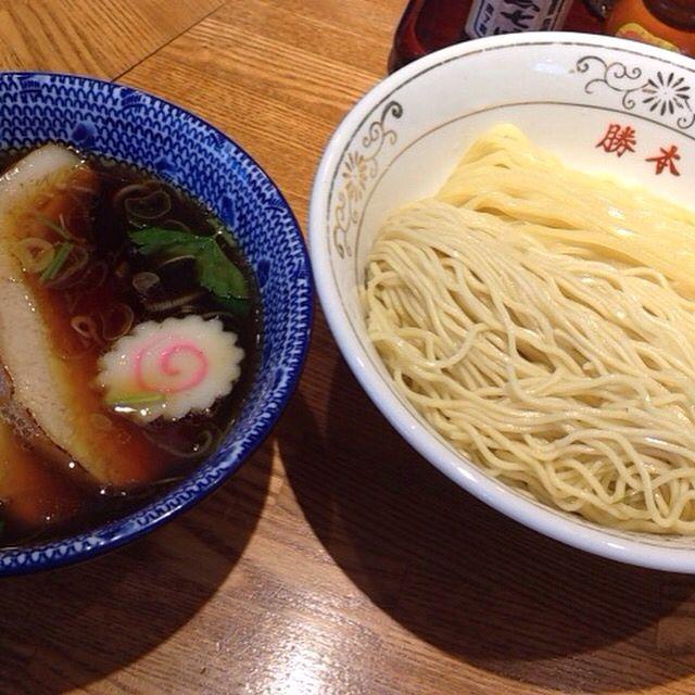 神田 勝本 神保町 特製清湯つけそば つけそば 飲食 そば