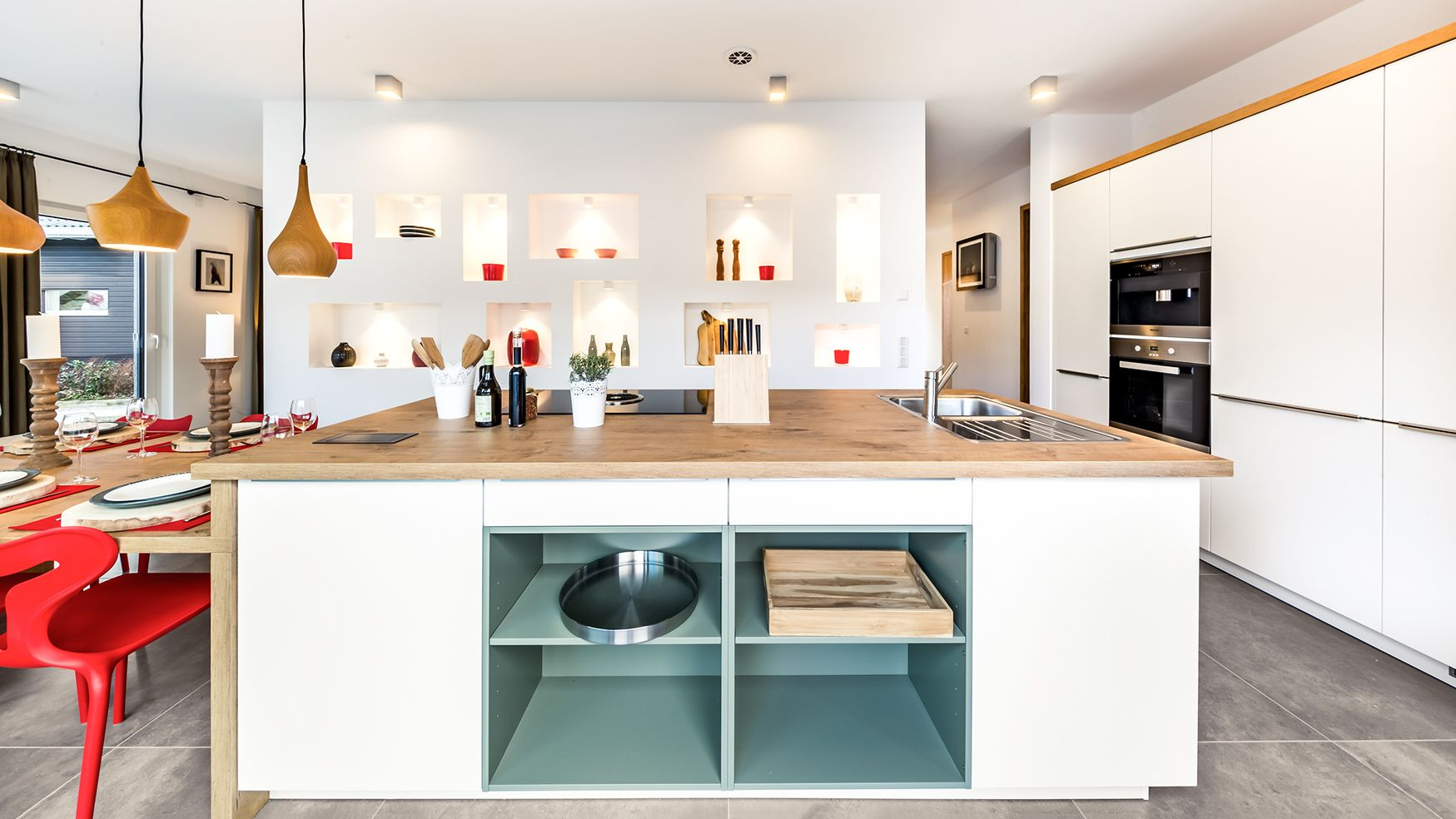 Musterhaus küchen erfahrungen  OKAL Musterhaus Fellbach | Küche | OKAL Küche & Esszimmer ...
