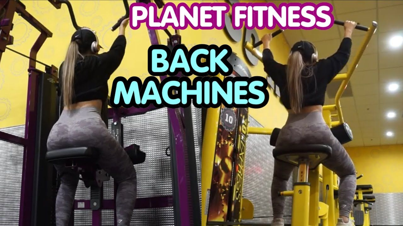 Back machines at fitness saavyy youtube in 2021