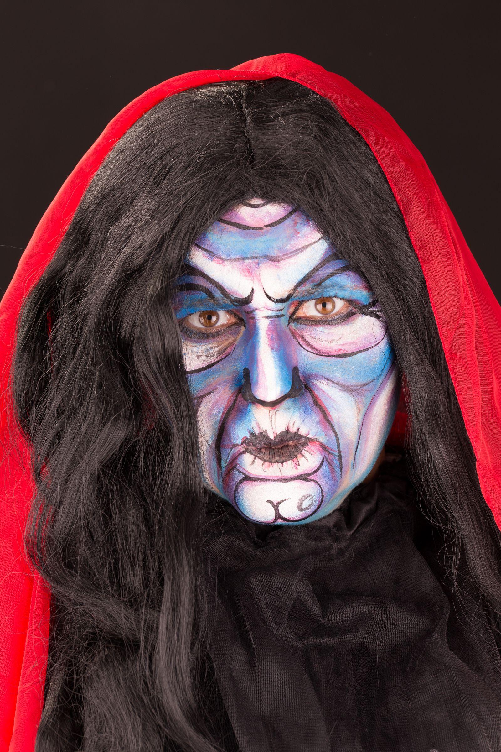 Halloween Se Acerca 1 Maketupcom Grimas Maquillaje Profesional - Maquillaje-profesional-halloween