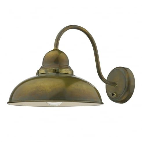Dar lighting dynamo single light switched wall fitting in aged brass dar lighting dynamo single light switched wall fitting in aged brass finish lighting type from audiocablefo