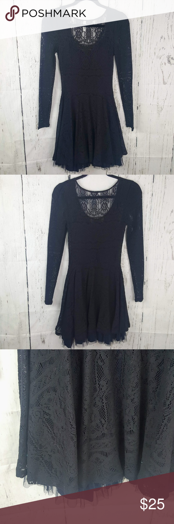 Free people victorian love lace tulle dress in my posh