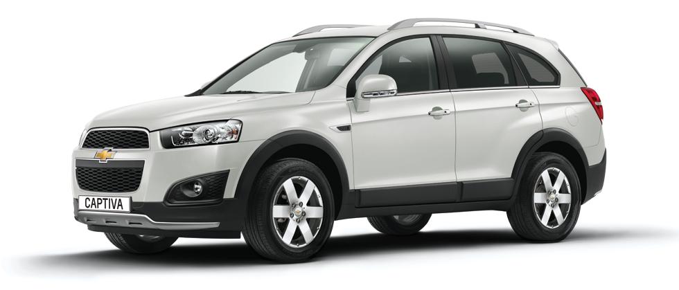 All New Chevrolet Captiva 2.2L Starts at Rs. 1835032.00