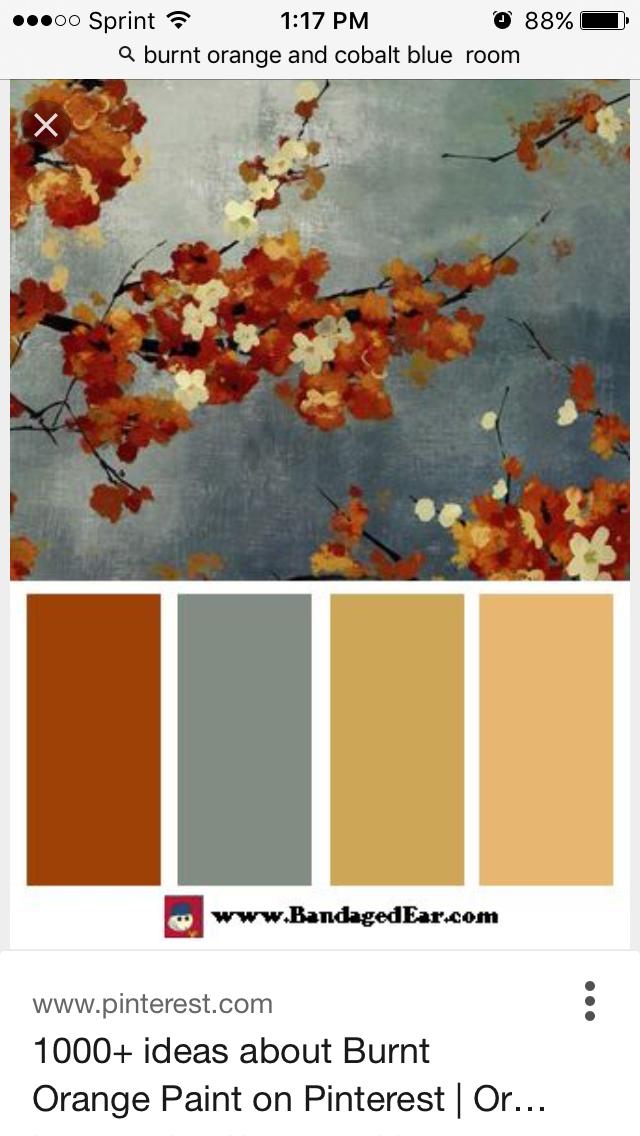 Decorating Ideas By Julie Orange Color Palettes House Colors Color Schemes