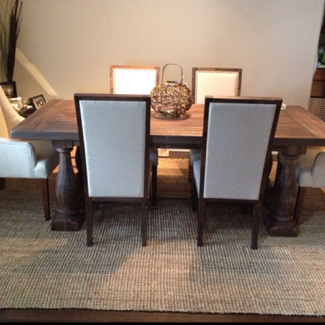 Our New Greyson Table From Cost Plus World Market World Market Dining Table World Market Dining Chairs Dining Room Decor