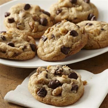 Cinnamon Chocolate Chip Cookies #recipe