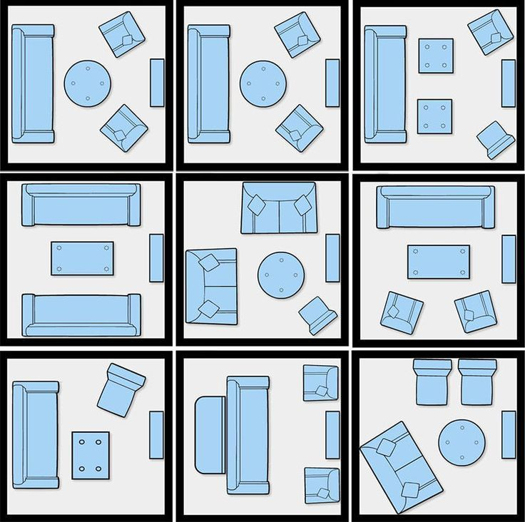 Layouts poss veis para decorar uma sala de estar quadrada for Sala de estar kawaii
