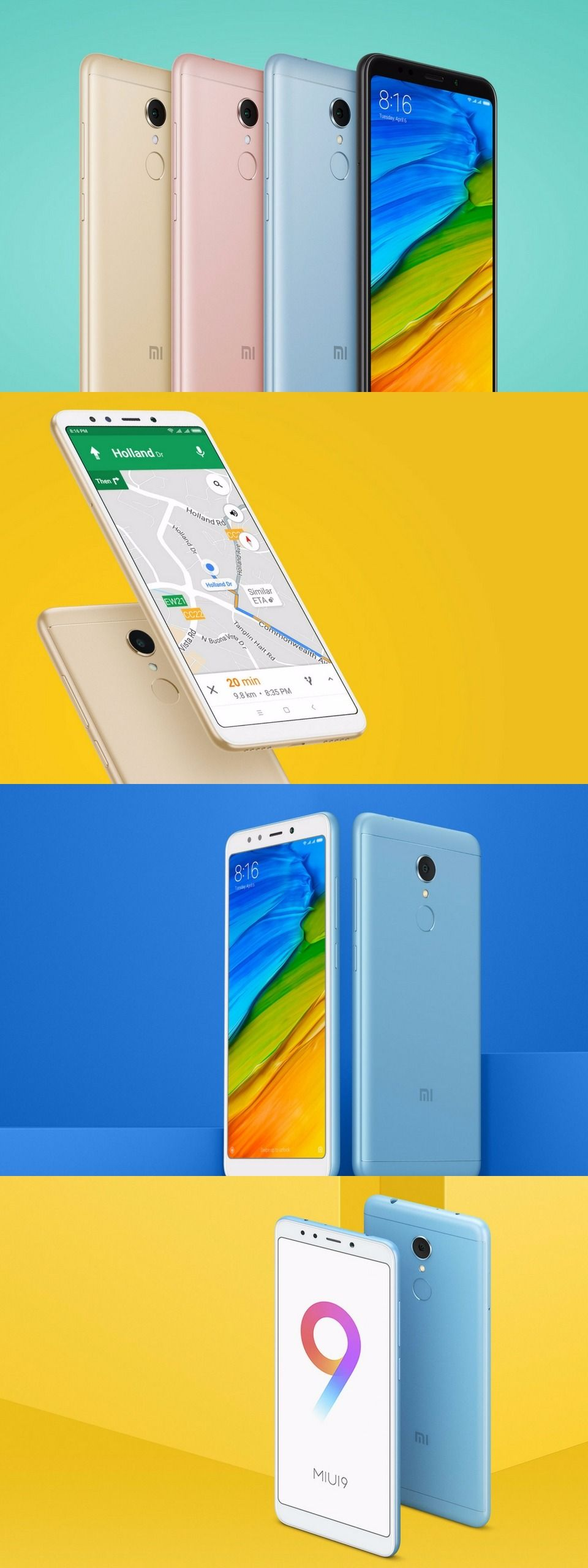 Xiaomi Redmi 5 With 5 7 Inch 18 9 Display Launched in India