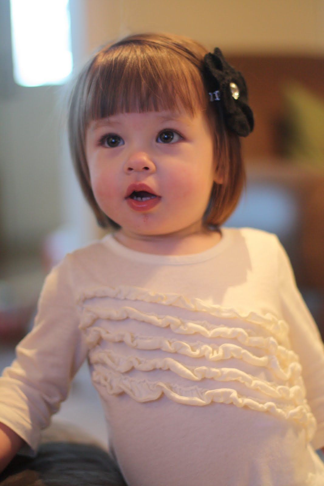 image result for baby girls first haircut styles | baby