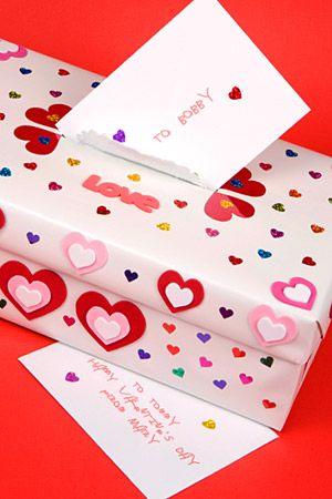 I remember.. making Valentine boxes.