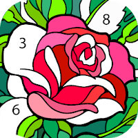 Color By Number New Coloring Book 2 0 6 Mod Apk Unlimited Tips Coloring Apps Happy Colors Coloring Books
