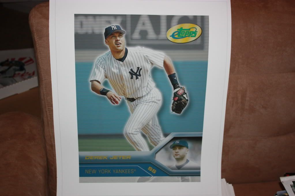 Derek Jeter 2005 16x20 canvas print! Buy it in my store or email me for a buy it now price quote! caesarandcleopatra@yahoo.com