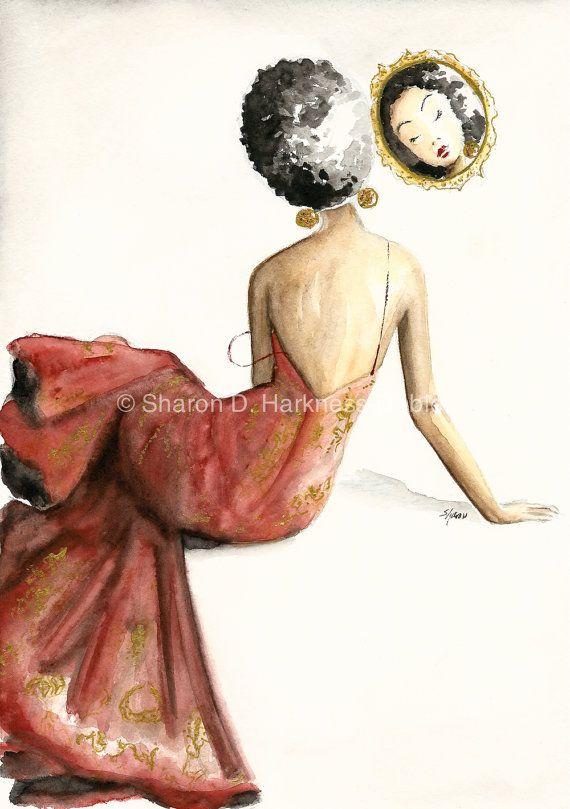 Mirror Mirror  Fine Art Print by YellowRoseDBS on Etsy