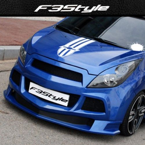 K Tuning Offers F3s Lip Type Body Kit Aeroparts Front Side Set For 2011 2013 Chevrolet Spark Matiz Creative Price 450 Ma Chevrolet Spark Chevrolet Body Kit