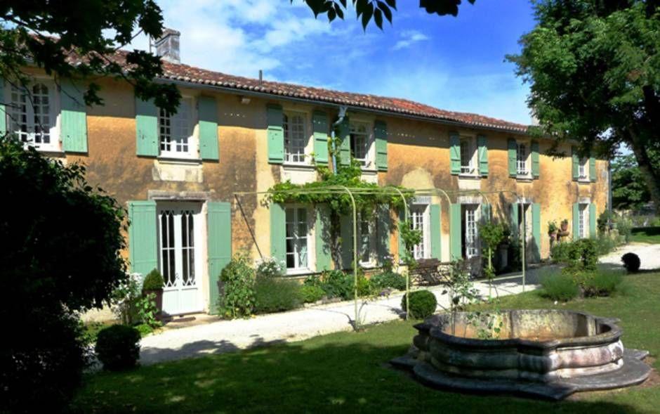 Maison D Hotes Le Prieure De La Fayolle 17400 St Denis Du Pin Maison D Hotes Maison Maison Style