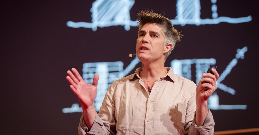 When asked to build housing for 100 families in Chile ten years ago, Alejandro Aravena looked to an unusual inspiration: