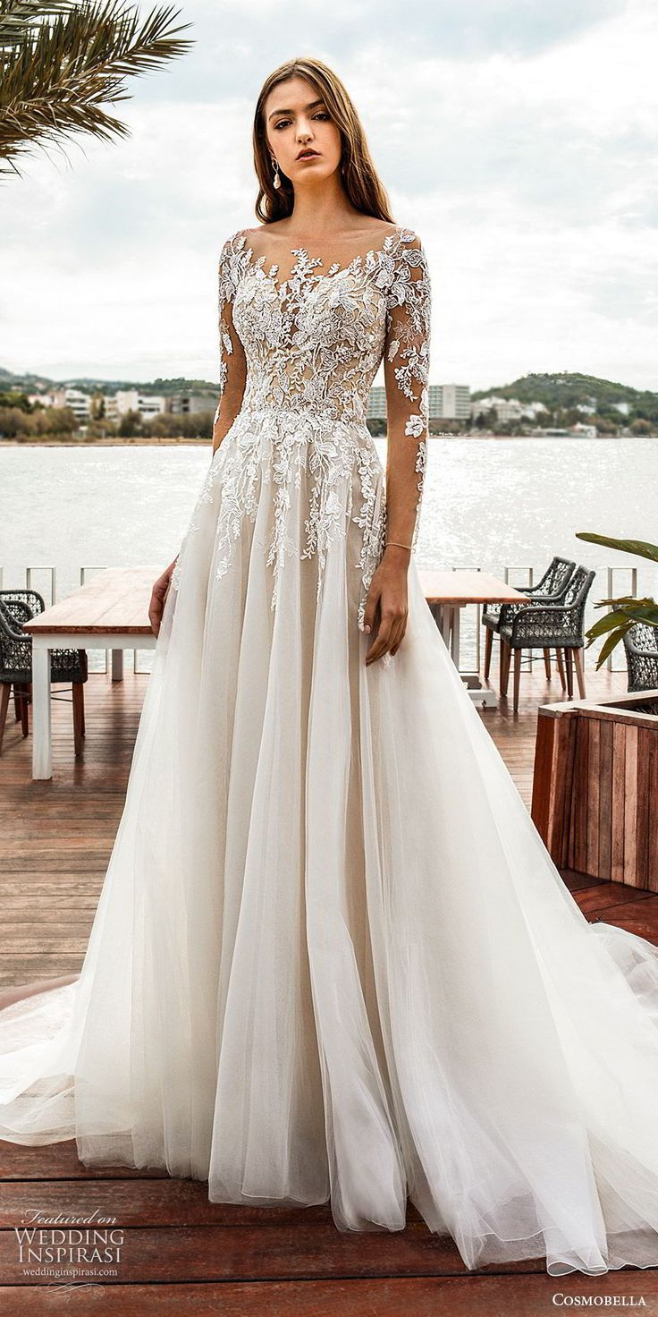 "Cosmobella 2020 Wedding Dresses — ""Eterea Eleganza"" Bridal"