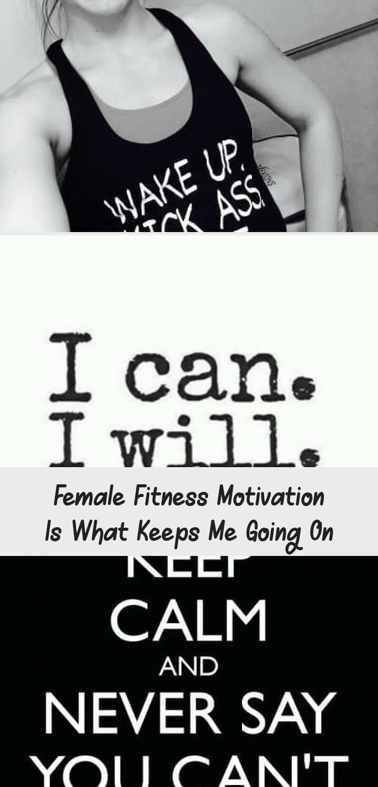 #Female #fitness #motivation is what keeps me going on #home_workouts #womensfitnessinspirationStren...