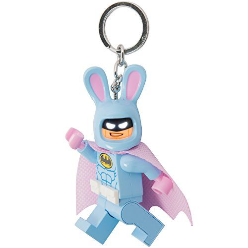 LEGO Batman Movie - Easter Bunny Batman - LED Key Chain Light with ...