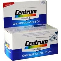 Pfizer Centrum Generation 50+ A-Zink + FloraGlo Lutein Caplette 180 St.