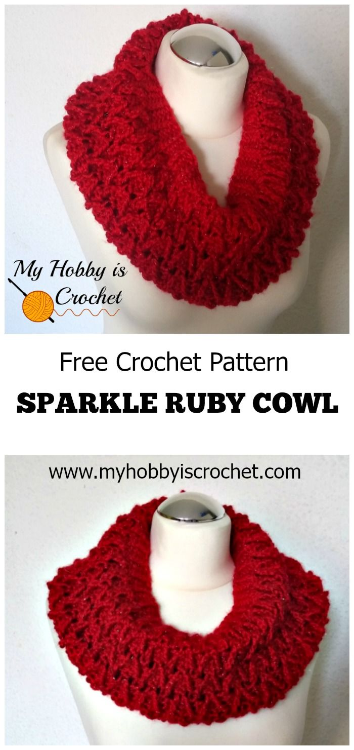 My hobby is crochet sparkle ruby cowl free crochet pattern my hobby is crochet sparkle ruby cowl free crochet pattern red heart joy bankloansurffo Image collections