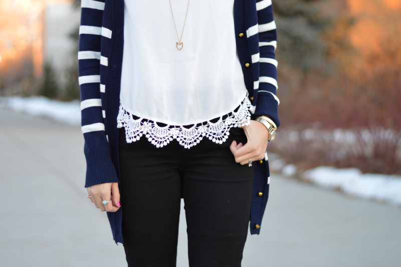 Crocheted details