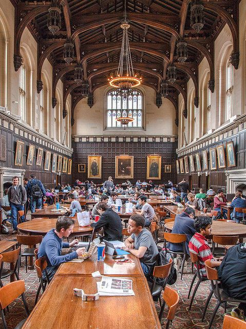 13 College Dining Halls That Look Exactly Like Hog
