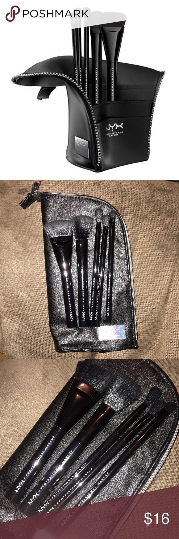 NYX Beauty Staple Brush Set (5) Brand new set of brushes