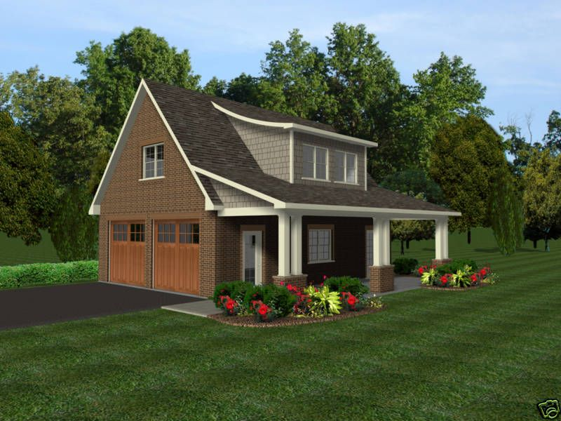 Garage with apartment plans prefab garage plans garage for Prefab 2 car detached garage