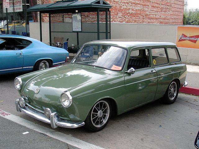 Type 3 Variant with BRM wheels.   VW - Porsche   Volkswagen type 3, Volkswagen, Cars