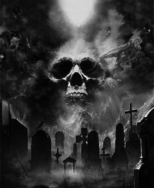 Picture Friedhof Tattoo Horror Tattoo Friedhof