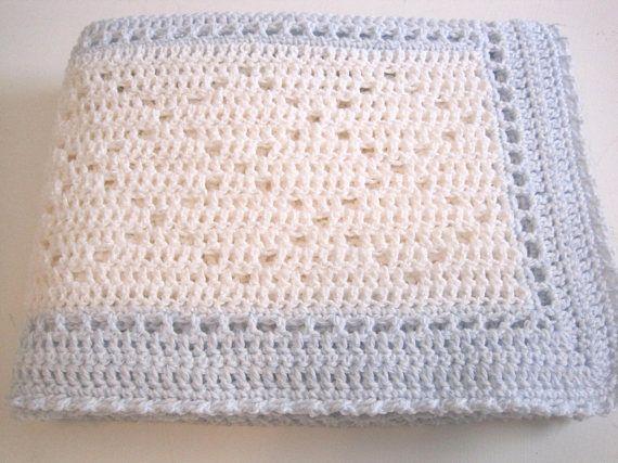 Baby Afghan, Crochet Baby Blanket, Baby Boy Blanket, Newborn Baby ...