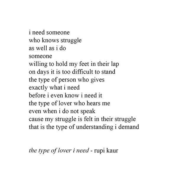 I Need Someone Who Knows Struggle As Well As I Do  Poems